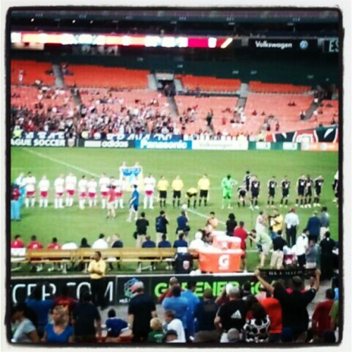 DC United vs New York Red Bulls! (Taken with Instagram)