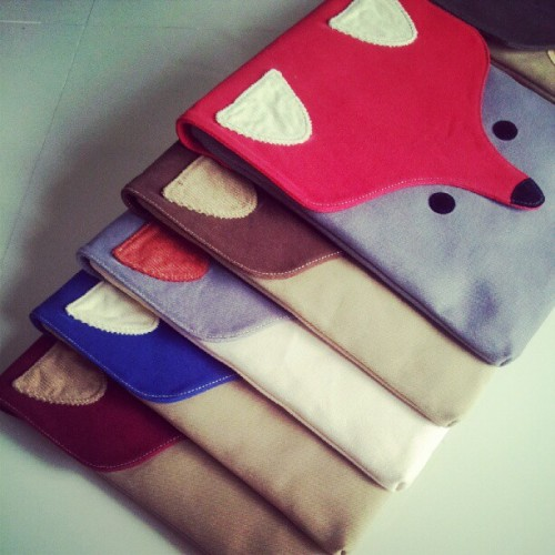 Launching Soon! #fox #ipad #ipadsleeve #ipadcase #littleoddforest #handmade #indielabel #quirky #kooky #whimsical #Singapore #design #brand #lifestyle #fashion #accessories http://www.forestprints.com  (Taken with Instagram)