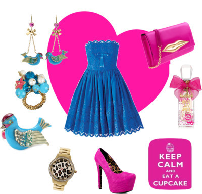 Keep Calm and Eat a Cupcake by coreytess featuring betsey-johnson watchesBetsey Johnson high heelsheels.comDiane von Furstenberg pink clutch$425 - veryeickhoff.comBetsey Johnson betsey johnson watchnordstrom.comBetsey Johnson betsey johnson jewelryendless.comBetsey Johnson betsey johnson jewelryzappos.comJuicy couture fragrancejuicycouture.comKEEP CALM AND EAT A CUPCAKE METAL WALL SIGN *BN* GREAT BIRTHDAY GIFT…ebay.co.ukBetsey Johnson Flights of Fancy Bird Chandelier Earringszassets.com