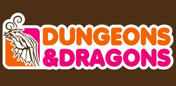 nuggetsofjoy:  Dunkin' Donuts vs Dungeons & Dragons  I'd get this on a coffee mug.