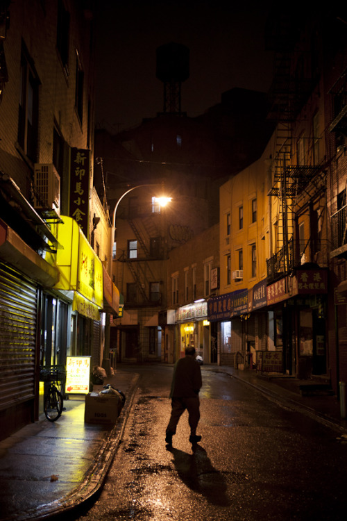 New York City photo by James Maher (via Doyers St. After Dusk, Chinatown)