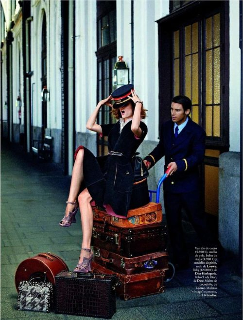 leahcultice:  Coco Rocha for Elle Spain September 2012 by Xavi Gordo  GO GO(・∀・)ノ
