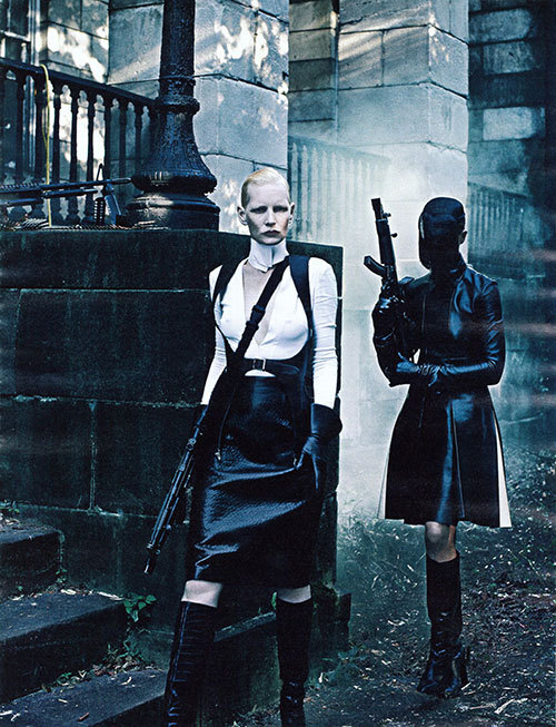 "midnight-charm:  ""New Order"" photographed by Steven Klein for Interview September 2012"
