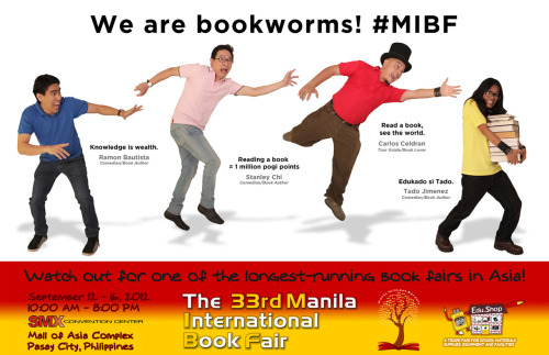 September Book fair! Hope to see Ramon B.!!! :))