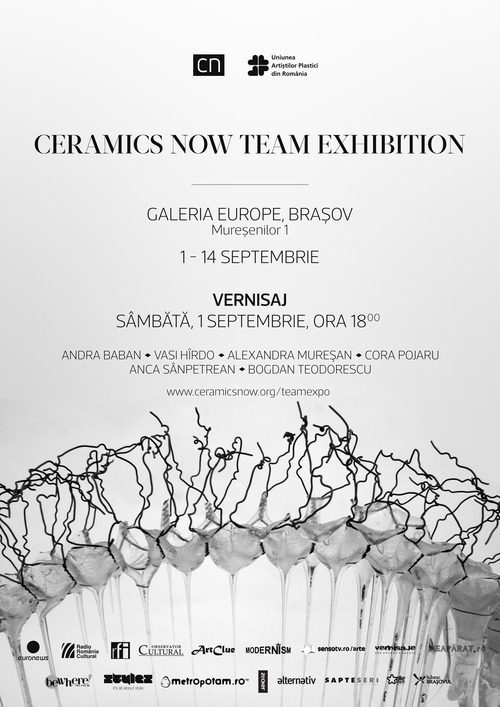Ceramics Now Team Exhibition, Brasov