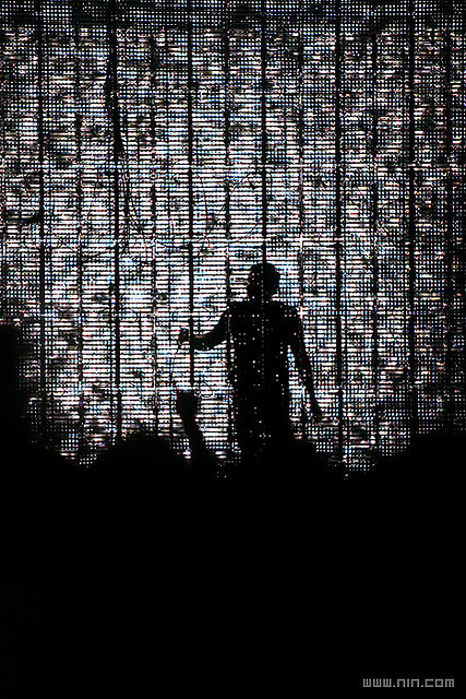 Nine Inch Nails Live @ Toyota Center - Houston, TX, 8.16.08 by Nine Inch Nails Official on Flickr.