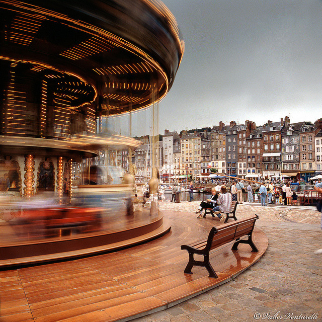 Late afternoon in Honfleur by valter venturelli on Flickr.