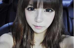 "Ulzzang Eye Makeup Tutorial  Makeup: Tony Moly Backstage Gel Liner Etude House Tear Drop Liner Etude House Lash Perm Volumecara Steps: Wash your face thoroughly - the gel eyeliner tends to smudge more frequently if your face has any oily residue.  If you are going to use circle lenses, put them on now!  Use the eyeliner as you normally would, but when you reach the outer corner of your eyes, make a little wing upwards. If you're confused, take a look at the picture above. Don't apply the eyeliner too thickly, though. Ulzzangs prefer the ""natural"" look, so try to keep it light. After putting on the eyeliner, get the Tear Drop liner ready. The Tear Drop liner is a shimmery liquid-y liner that you can use in your daily makeup routine to attract attention to your eyes. It's not too strong and is good for daily use. To use this, simply dab some onto your bottom lid with the brush. I sometimes like to use my pinky finger to spread it out evenly. Now is the easy part! Just use the mascara like you normally would in daily life, but don't overdo it! One or two coats should be sufficient. I hope you liked my tutorial! TBH, it wasn't much of a tutorial, because I'm not good at explaining stuff like makeup, but I hope that it helped you understand ulzzang eye makeup routines better! :)  + Credits go to my ulzzang unnie; this is her routine!"