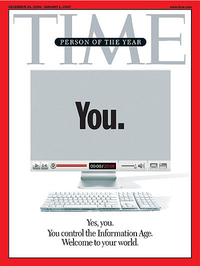 collective-history:  I was TIME Magazine's Person of the Year in 2006. Just saying.  TIME