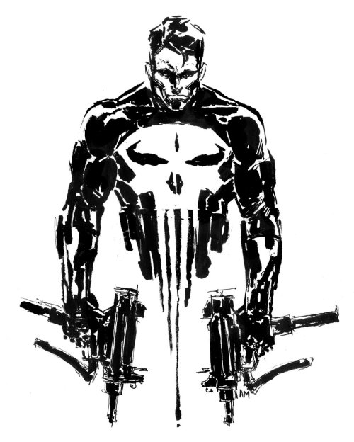 Punisher by Aaron Minier / Blog / Tumblr