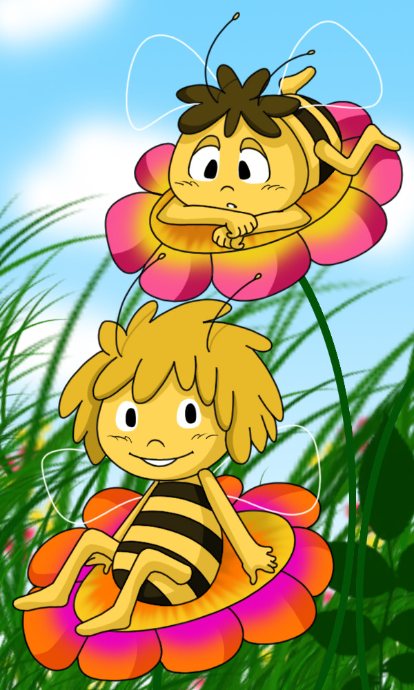 Maya The Bee by *YukiMiyasawa