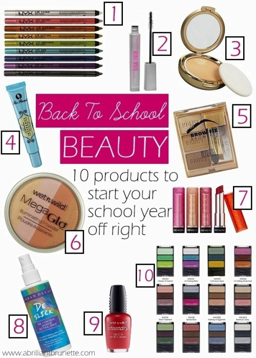 ladypandacat:  BACK-TO-SCHOOL BEAUTY | 10 PRODUCTS TO START YOUR SCHOOL YEAR OFF RIGHT