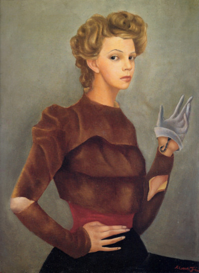 happy birthday Leonor Fini Selfportrait with Scorpion 1938