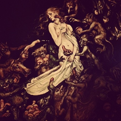 150 year old Goblin art!  (Taken with Instagram)