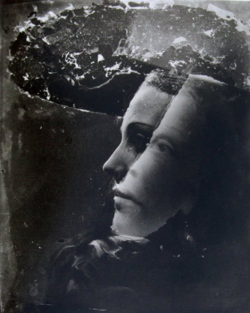 sorehearts:  Double Portrait By Dora Maar, 1930 by JLQ831 on Flickr.