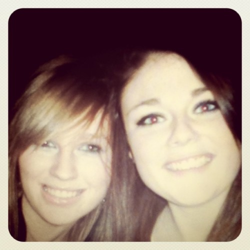 Going through old photos and found one of me and @laurentaylorr3 <3 #friends #memories  (Taken with Instagram)