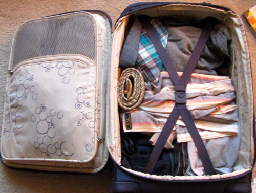 I'm packed!  #travel #eurotrip