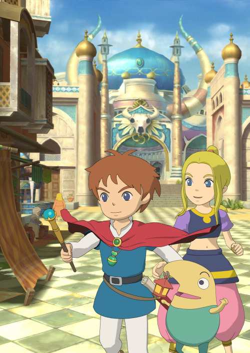 deculture-es:  Ni no Kuni: La ira de la Bruja Blanca / Wrath of the White Witch cover artwork