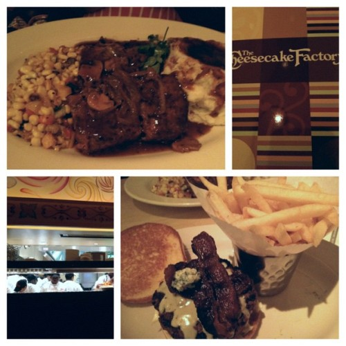 Cheesecake Factory #picstitch (Taken with Instagram at The Cheesecake Factory)