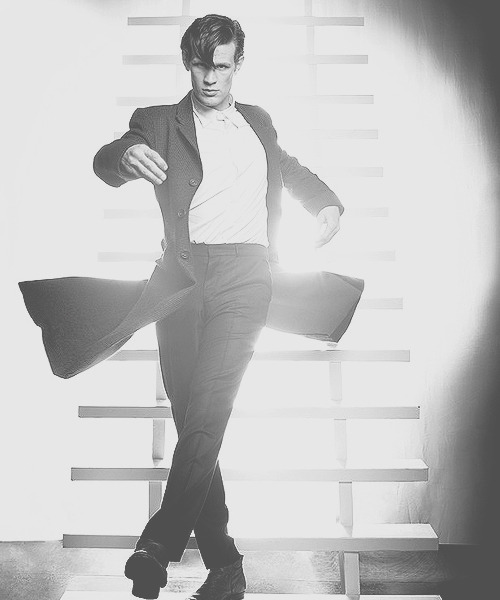 ponderwall:  Matt Smith for Empire Magazine [x]