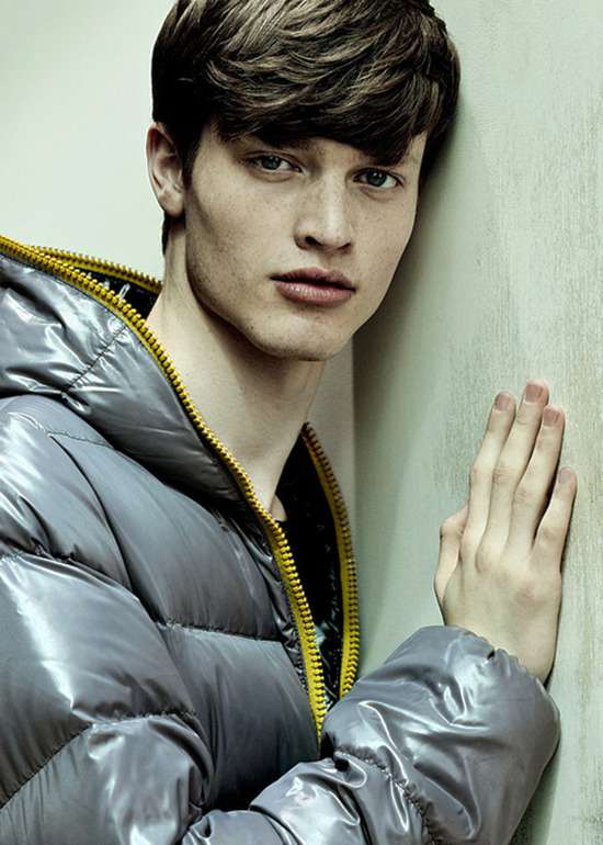 Luuc Brans for Duvetica Fall/Winter 2012-13 [ fave models | 1000+ notes | facebook ] omg! it's luuc!!