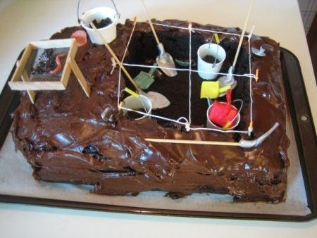 fpannortheast:  Yet another archaeology cake I want!