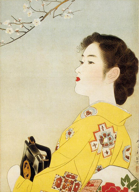"Japanese Beauty, 1940s on Flickr. Scanned from Taschen's ""Japanese Beauties""."