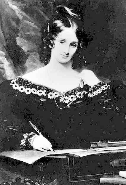 Happy Birthday, Mary Shelley, author of Frankenstein, who was born 30 August 1797, and died 1 Feb 1851.  Frankenstein Quotes Nothing is so painful to the human mind as a great and sudden change. If I cannot inspire love, I will cause fear! What terrified me will terrify others; and I need only describe the spectre which had haunted my midnight pillow. Source for Image