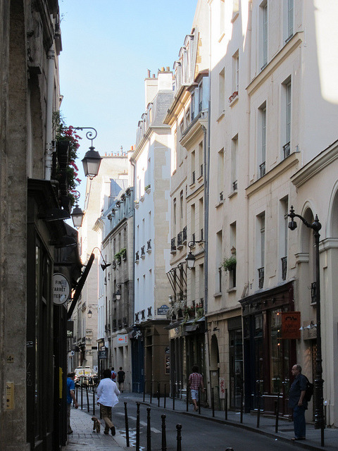 Paris - Le Marais  | by Marti B. | via parisbeautiful
