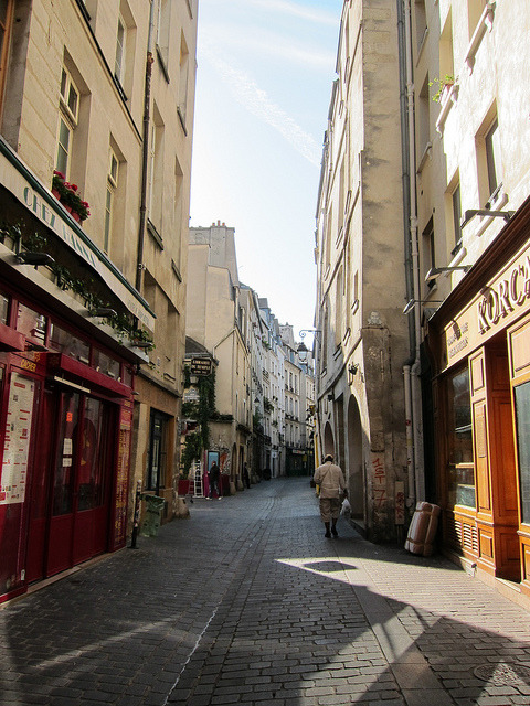 Paris - Rue de Roisers, Le Marais  | by Marti B. | via parisbeautiful