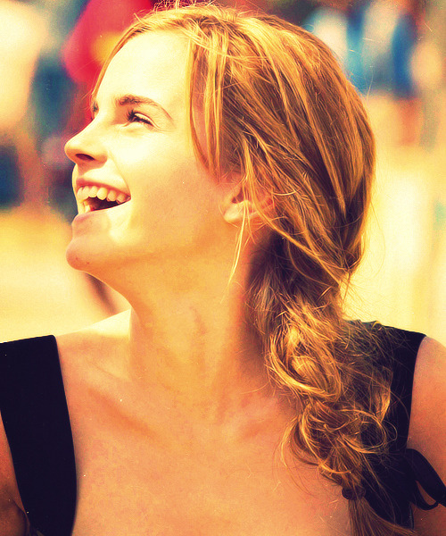 theworldofemwatson:  …and that's why I smile.