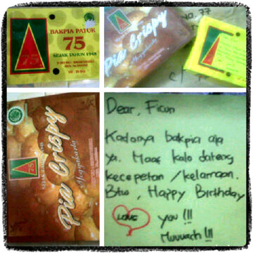 from @putisaras with a lot of loves, makasih ya cantikkkk (Photo taken and uploaded via MOLOME )