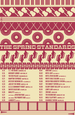 The Spring Standards Fall Tour - Derek Eads