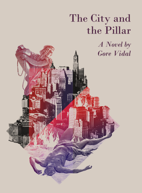 "■ infn ■ → Gore Vidal → The City and the Pillar → cover → (5) ""[…] My version of the cover for Gore Vidal's novel. A personal work. In the collage were used engravings by Gustave Doré. […]"" A proposito di Gore Vidal, materiali per una bibliografia italiana (1bis)"