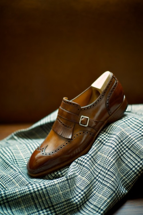 Nice.. ethandesu:  Casual The model 545 Saint Crispin's Made to Measure