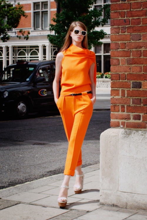 Resort 2013  Roland Mouret Model: Jennifer Messelier Photo Courtesy of Roland Mouret FIG Fave #1