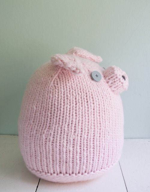 Big Pink Pig - the purl bee