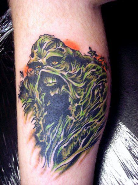 Now that's a Swamp Thing tattoo…