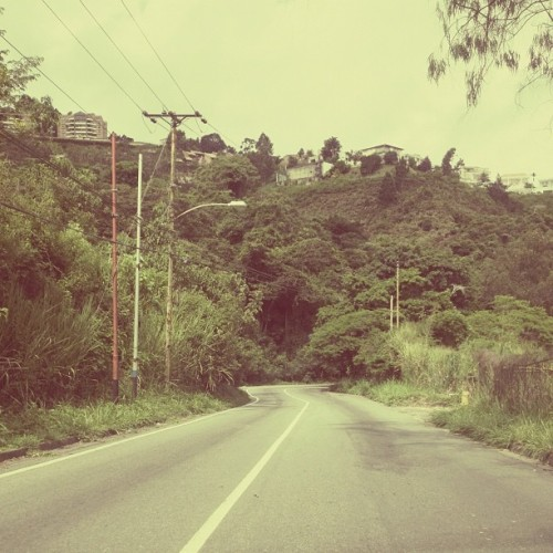 On the road again… (Tomada con Instagram)