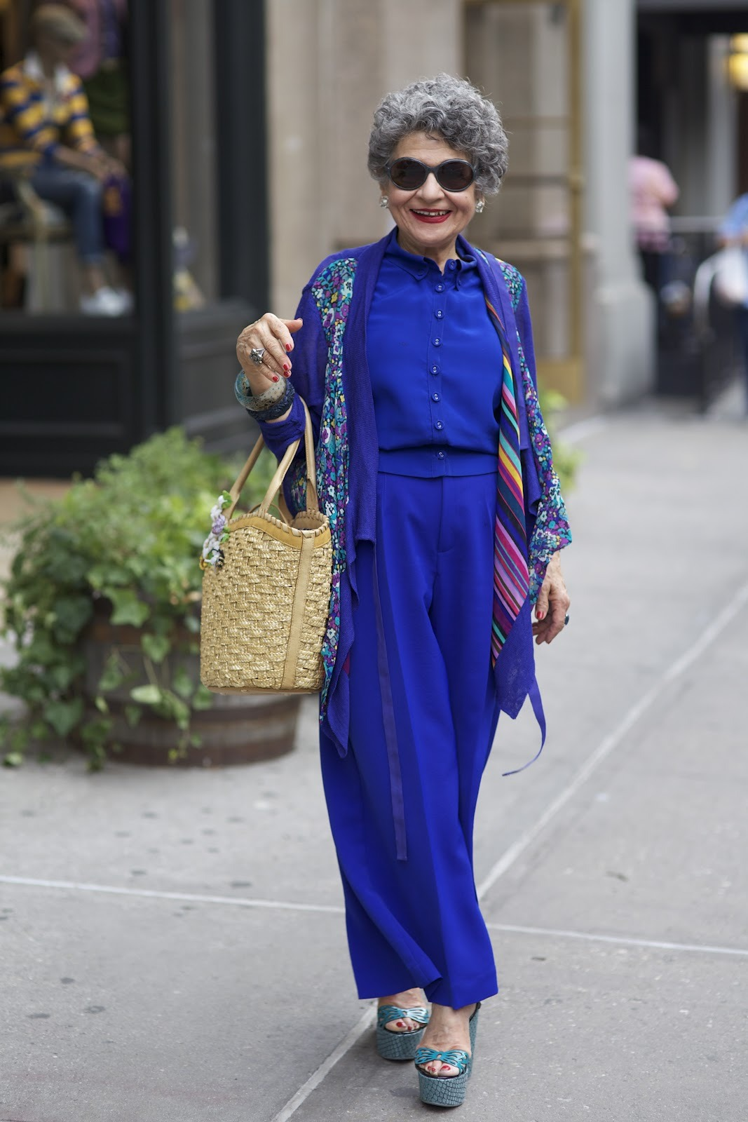 nanettelepore:  mary, one of the most electrifying women in new york, flaunts nanette on AdvancedStyle. see the post here