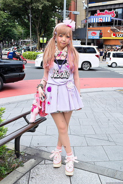 Nadia Dress, Harajuku by tokyofashion on Flickr.