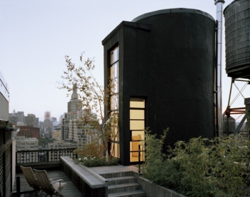 10 Industrial Water Towers Converted Into Awesome, Modern Homes Perhaps these are urban tree houses - urban water towers converted into beautiful homes