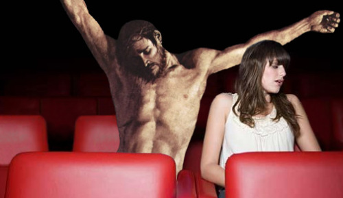 jesus-everywhere:  Jesus Pretending To Stretch So He Can Make A Move
