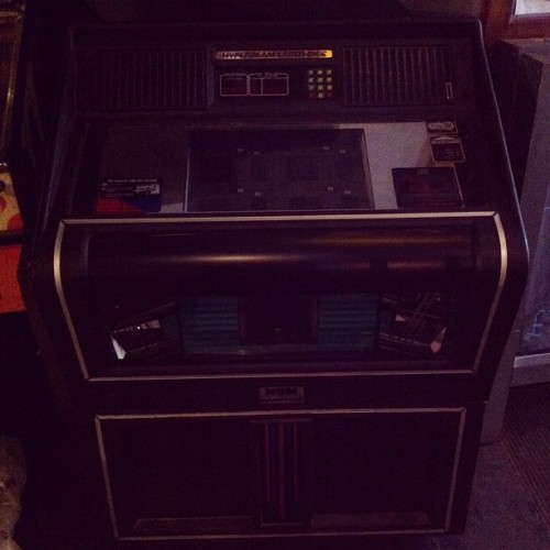 Our new jukebox has arrived!  (Taken with Instagram at The Bodega Social Club)