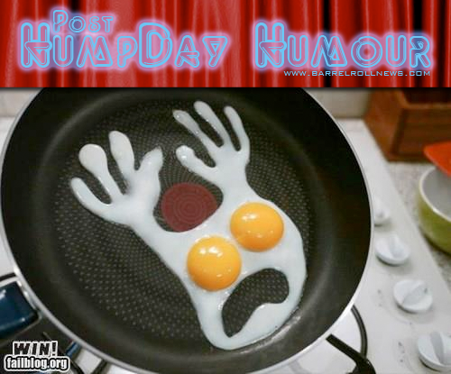 Post-Humpday Humour - August 30, 2012Gotta love some spooky eggs!