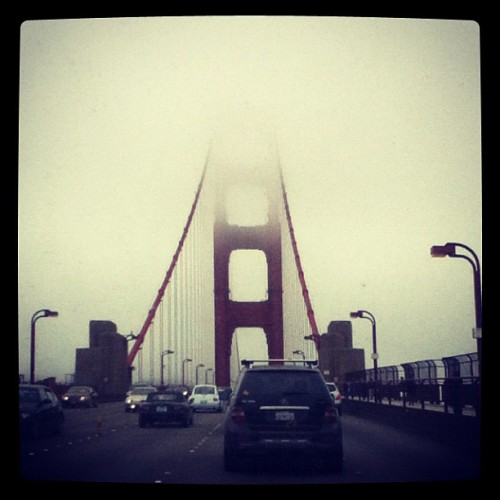 Foggy SF <3 (Taken with Instagram)