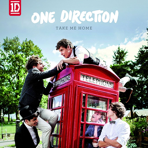 One Direction - Take Me Home; album artwork