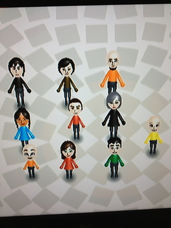 Meet my fitness buddies. Since I've added the Korra cast to my wiifit, I've actually lost 10 lbs. Best fitness program ever. It's great getting to race Asami and watch Korra fall flat on her face. Oh and Aang's over there too xD