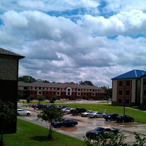 The sun coming out in br (Taken with Instagram)