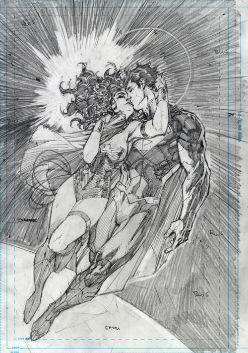 danhacker:  Justice League #12 second Printing Cover | Jim Lee